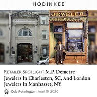 MP Demetre Jewelers featured on Hodinkee Retailer Spotlight